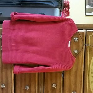Beautiful red sweater